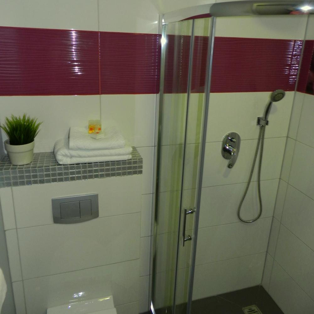 Łazienka - widok na prysznic